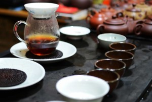 The first steep of the sheng puer