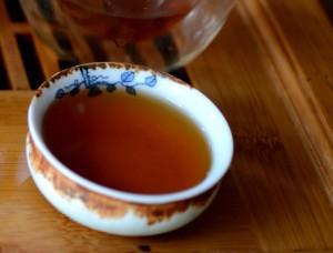 aged puer tea