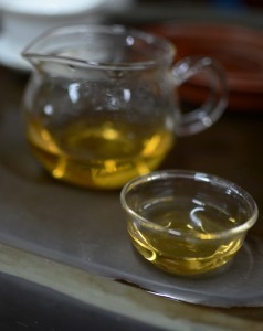 Cup of puer tea