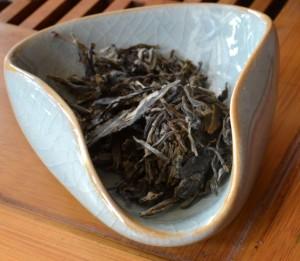 Dry Naka Shan puer tea