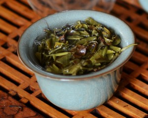 Puer tea in the Gaiwan