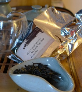 Tea blog for Yiwu Purple