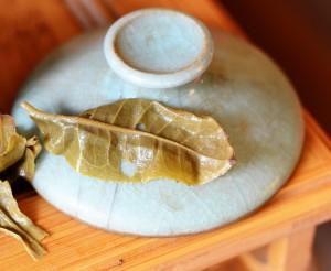 puer tea leaf