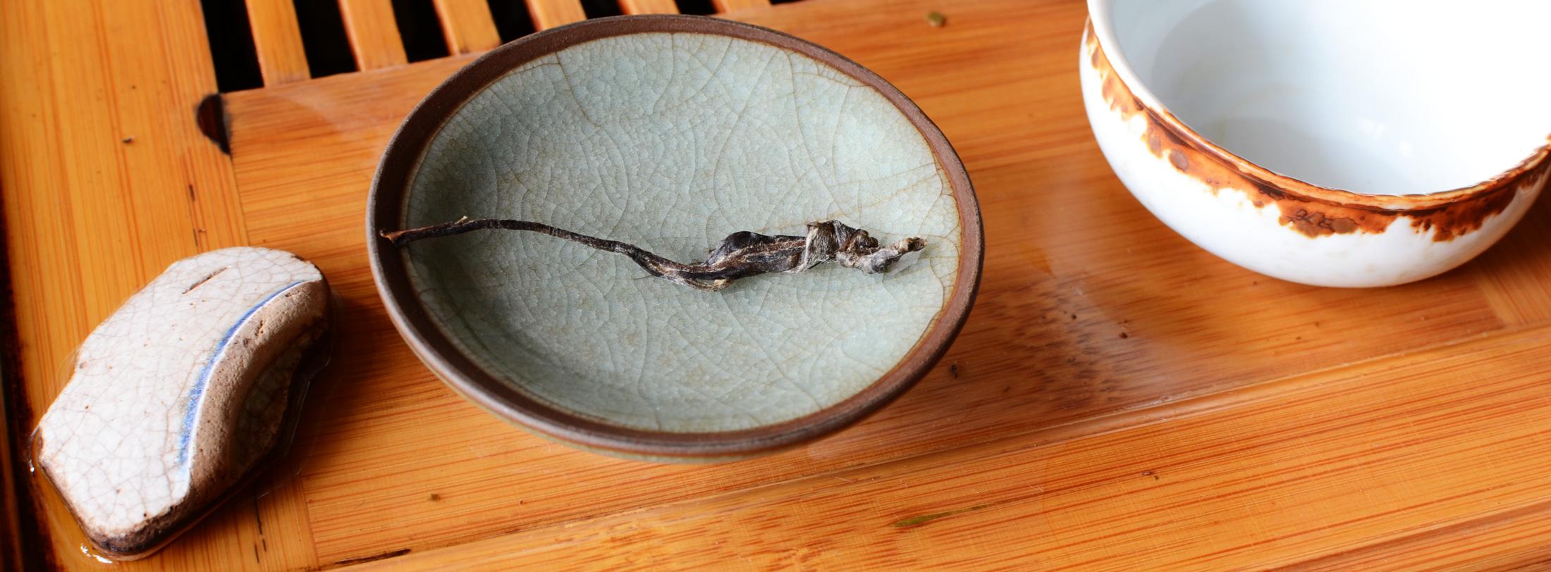Douji Yiwu Raw Puer Tea