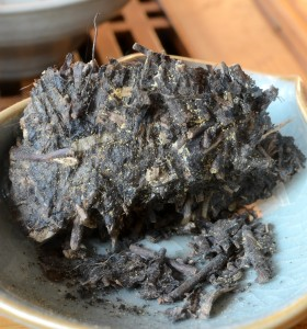 jinhua mold on tea