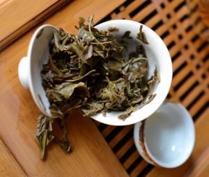 Steeped Dayi tea