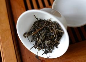 Gaiwan with tea