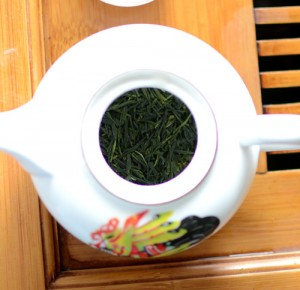 Green tea pot