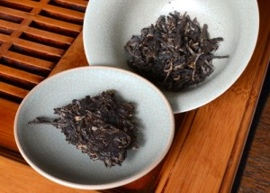 Dry Puerh Tea