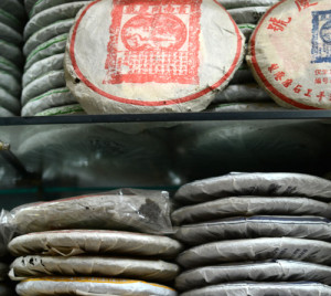 Stacks of Puerh