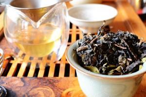 Gaiwan full of tea
