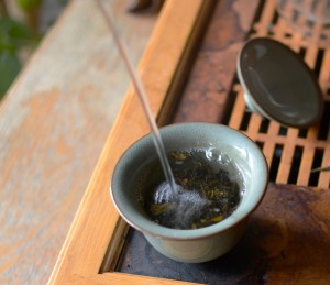 Brewing Puer Tea