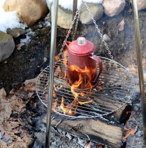 Tea fire