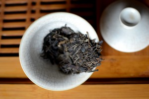 loose pressed puer tea