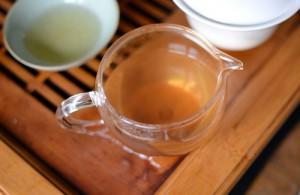 Cloudy tea